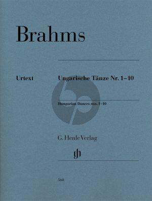 Brahms Ungarische Tänze No.1-10 Piano