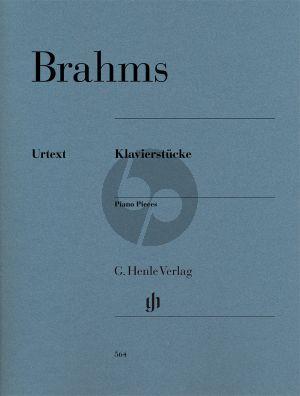 Brahms Klavierstücke (edited by Katrin Eich)