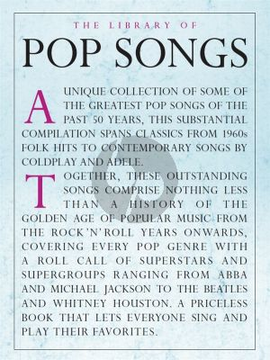 The Library Of Pop Songs for Piano