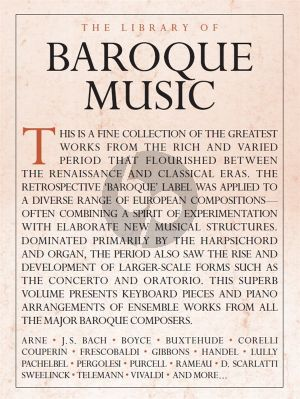 The Library Of Baroque Music for Piano