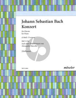 Bach Konzert d-moll BWV 974 (nach A.Marcello) Klavier