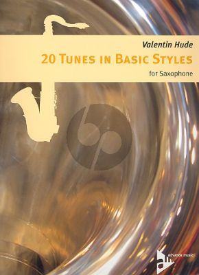 Hude 20 Tunes in Basic Style for Saxophone