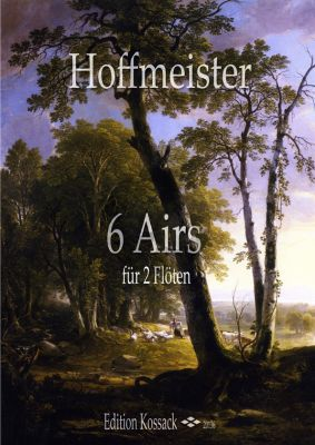 Hoffmeister 6 Airs 2 Flutes (Score/Parts)