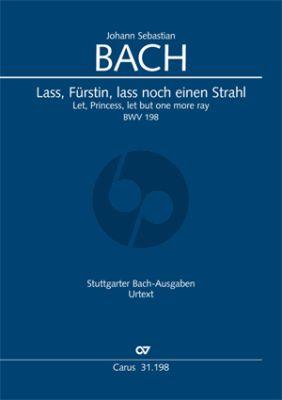 Bach Lass, Fürstin, lass noch einen Strahl (Trauerode)