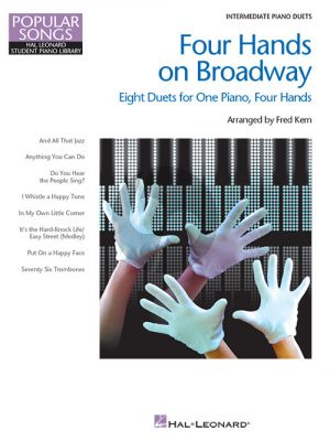 Four Hands on Broadway Piano 4 Hds.