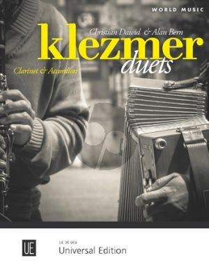 Klezmer Duets for Clarinet and Accordion