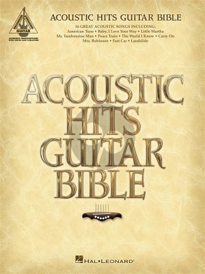 Acoustic Hits Guitar Bible (Recorded Versions Guitar)