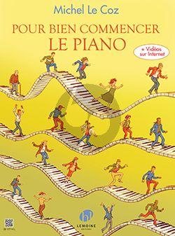 Le Coz Pour bien commencer le piano