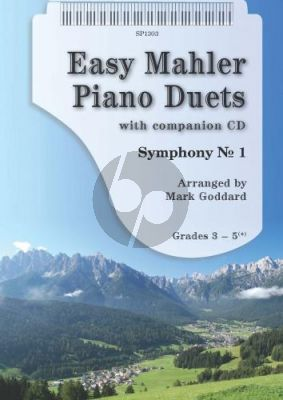 Easy Mahler Piano Duets (Bk-Cd) (Mark Goddard)
