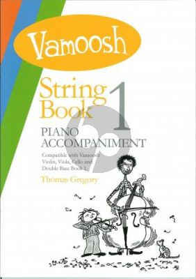 Gregory Vamoosh String Book 1 Piano Accompaniments