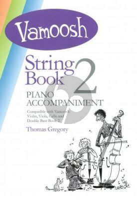 Gregory Vamoosh String Book 2 Piano Accompaniment