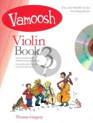 Gregory Vamoosh Violin Book 3 (Bk-Cd)