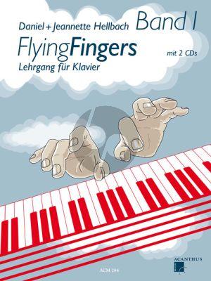 Hellbach Flying Fingers Vol.1 (Lehrgang für Klavier) (Bk-2 CD's)