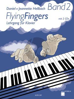 Hellbach Flying Fingers Vol.2 (Lehrgang für Klavier) (Bk-2 CD's)