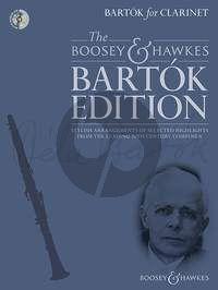 Bartók for Clarinet Bk-Cd