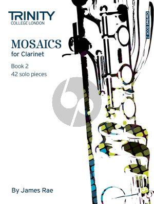 Mosaics for Clarinet Vol.2 (42 Solo Pieces)