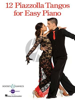 12 Piazzolla Tangos for Easy Piano