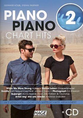 Piano Piano Chart Hits 2 Klavier