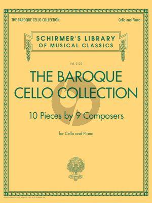 Album The Baroque Cello Collection Violoncello-Piano (10 Pieces by 9 Composers)