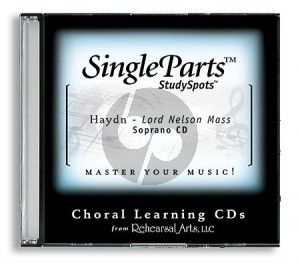 Haydn Lord Nelson Mass (Latin) Soprano CD (Single Parts)