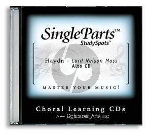 Haydn Lord Nelson Mass (Latin) Alto CD (Single Parts)
