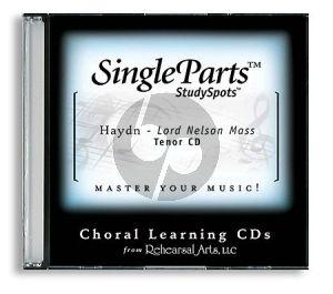 Haydn Lord Nelson Mass (Latin) Tenor CD (Single Parts)