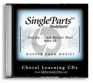 Haydn Lord Nelson Mass (Latin) Bass CD (Single Parts)