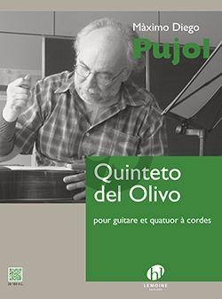 Pujol  Quinteto del Olivo Guitar-String Quartet (Score/Parts)