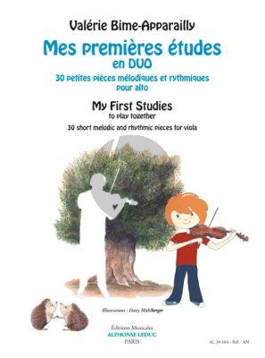 Bime-Apparailly Mes premières études en duos Viola