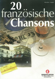 20 französische Chansons für Akkordeon