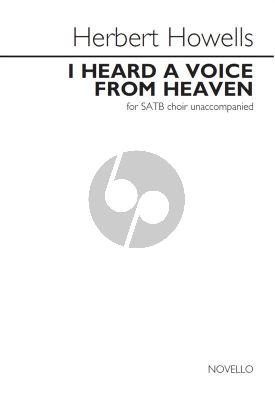 Howells  I Heard A Voice From Heaven (Requiem) SATB