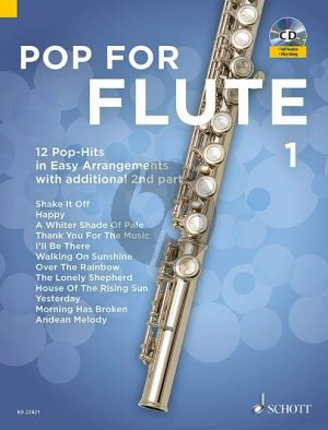 Pop For Flute (12 Pop-Hits in Easy Arrangements) Vol.1 1-2 Flutes