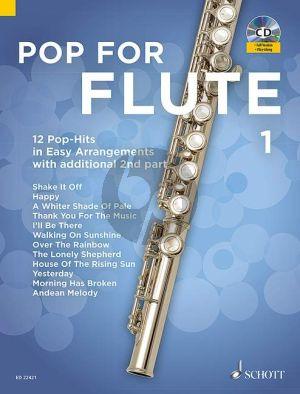 Pop For Flute (12 Pop-Hits in Easy Arrangements) Vol.1 1-2 Flutes