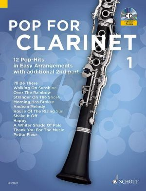 Pop For Clarinet (12 Pop-Hits in Easy Arrangements) 1-2 Clarinets
