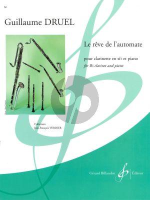 Druel Le rêve de l'automate Clarinet[Bb]-Piano