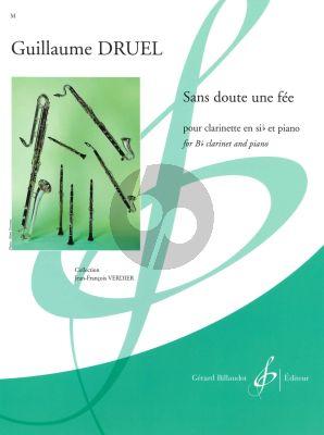Druel Sans doute une fée Clarinet[Bb]-Piano