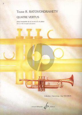Ratovondrahety Quatre Vertus Trumpet[C/Bb]-Piano