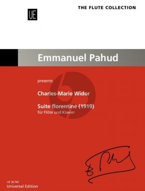 Widor Suite Florentine (1919) Flute-Piano (Rien de Reede)