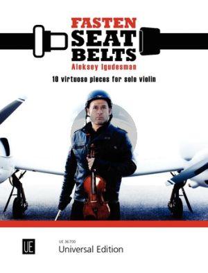 Igudesman Fasten Seat Bells 10 Virtuoso Pieces for Solo Violin