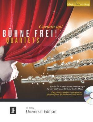 Buhne Frei! (Curtain Up!) Quartets for 4 Flutes