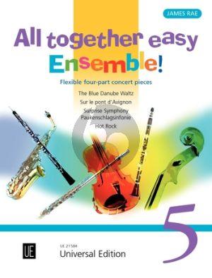All together easy Ensemble! Vol.5 for flexible ensemble