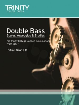 Double Bass Scales, Arpeggios & Studies from 2007