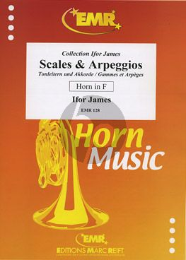 James  Scales & Arpeggios Horn[F]-Piano