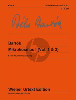 Mikrokosmos I (Vol.1 - 2) Piano