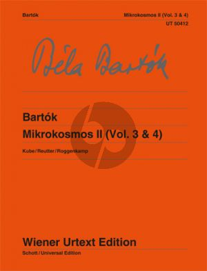 Mikrokosmos II (Vol.3 - 4) Piano