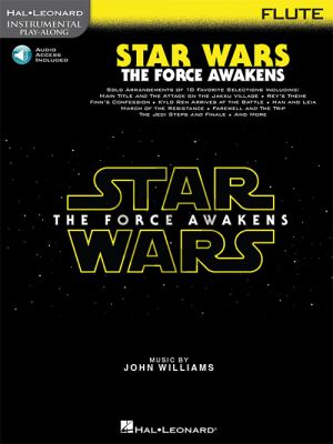 Williams Star Wars: The Force Awakens Instrumental Play-Along Flute