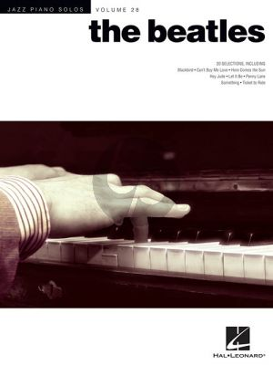 The Beatles (20 Selections) (Jazz Piano Solos Series Vol.28)