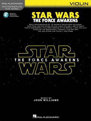 Star Wars: The Force Awakens Instrumental Play-Along Violin