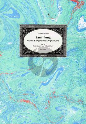 Krahmer Sammlung leichter und angenehmer Originalstücke Op.10