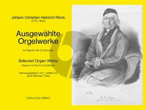 Rinck Ausgewahlte Orgelwerke (Jens Michael Thies)